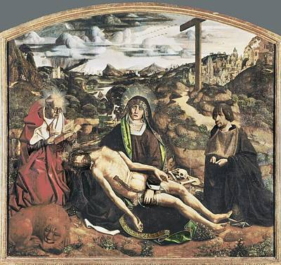 Bermejo, Bartolom� 1420-1498. Piet� Poster