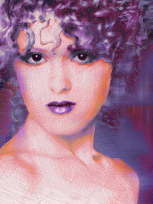 Bernadette Peters Pop Poster