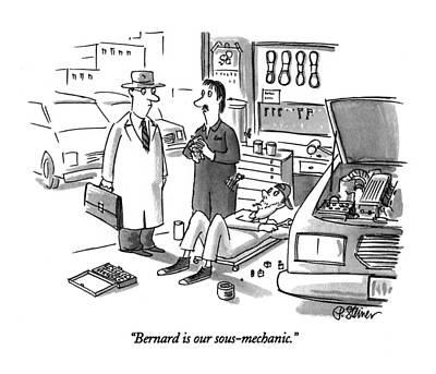 Bernard Is Our Sous-mechanic Poster