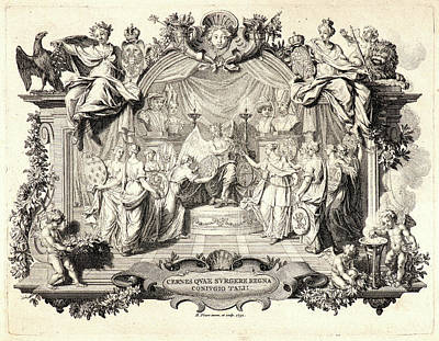Bernard Picart French, 1673 - 1733. Cernes Quae Surgere Poster