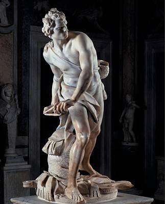 Bernini Gian Lorenzo, David, 1623 - Poster by Everett