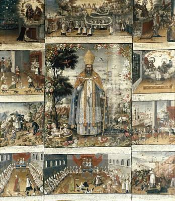 Berrio, Gaspar Miguel De 1706-1761. San Poster by Everett