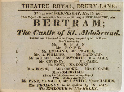 Bertram Poster by British Library