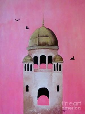 Berwick Steeple Poster by Elaan Yefchak