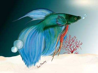 Beta Fish Poster