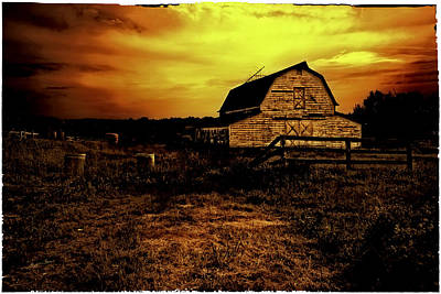 Bethel Farmland Poster by Madeline Ellis