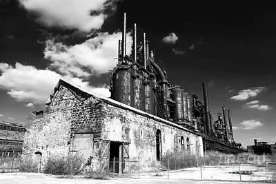 Bethlehem Steel Poster by John Rizzuto