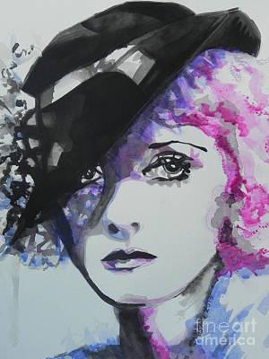 Bette Davis 02 Poster by Chrisann Ellis