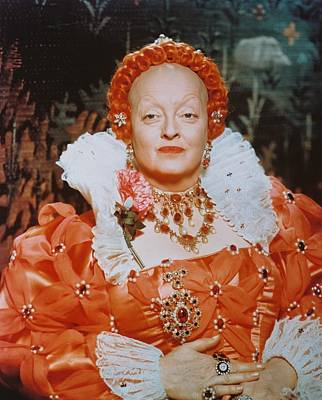 Bette Davis In The Virgin Queen Poster by Silver Screen
