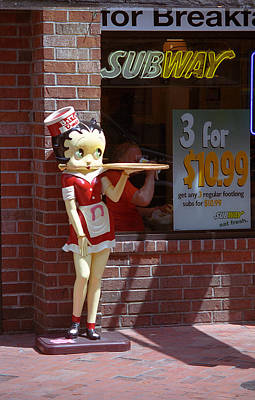 Betty Boop 1 Poster by Frank Romeo