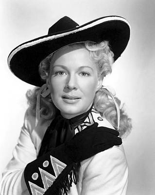 Betty Hutton Actress Poster by Daniel Hagerman