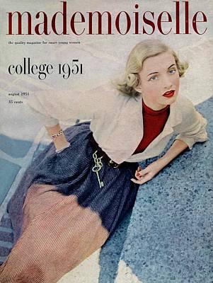 Betty Mcclain Wearing Dan River Poster