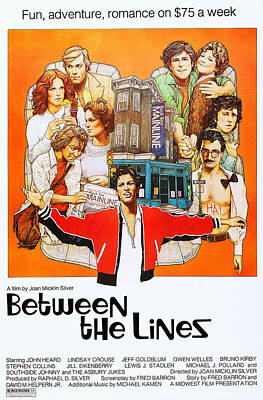 Between The Lines, Us Poster Art, John Poster by Everett