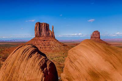 Between The Rocks Poster