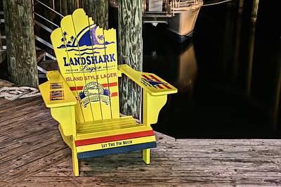 Beware The Destin Landshark Poster