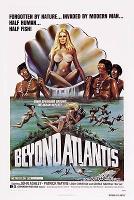 Beyond Atlantis, Us Poster Art, 1973 Poster by Everett