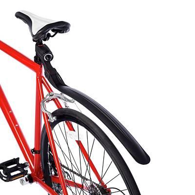 Bicycle Mud Guard Poster