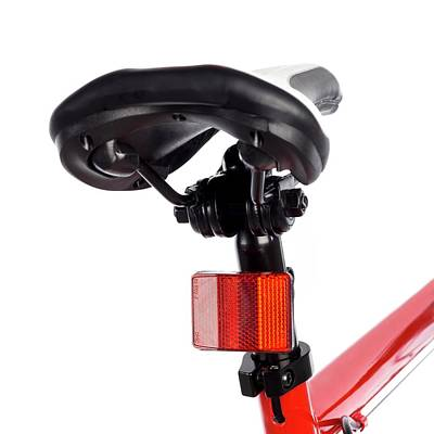 Bicycle Saddle And Reflector Poster
