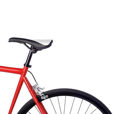 Bicycle Saddle Poster