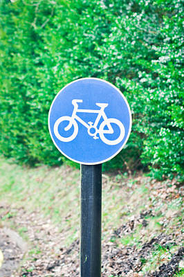 Bicyle Route Poster