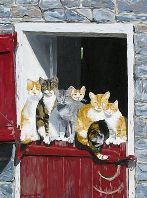 Biddles Barn Kitties Poster