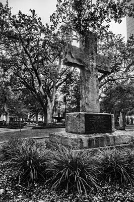 Bienville Cross Poster by Michael Thomas