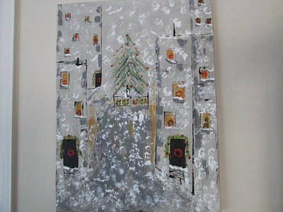 Big Apple Christmas Poster