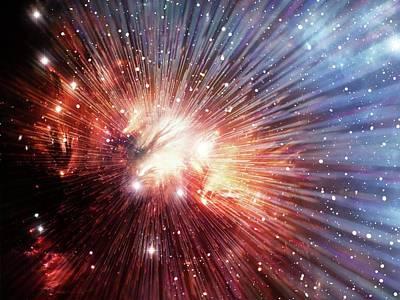 Big Bang Poster by Alfred Pasieka