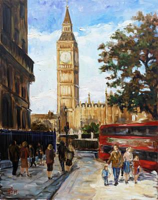 Big Ben - London Poster by Irek Szelag