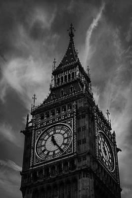 Big Ben London Poster by Martin Newman
