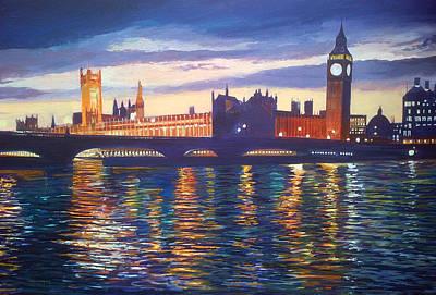 Big Ben Poster by Steve Crisp