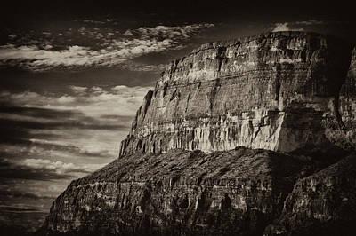 Big Bend Cliffs Poster
