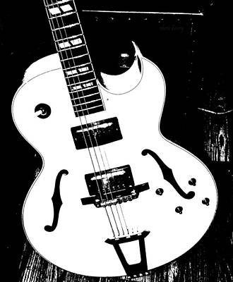 Big Ol Gibson Poster by Chris Berry