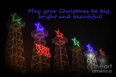 Big Bright Christmas Greeting  Poster