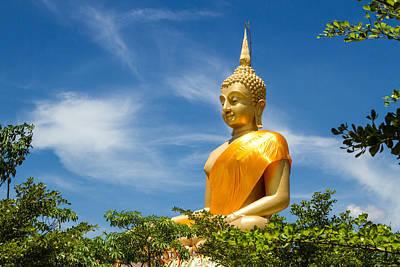 Big Buddha With Bluesky  Poster