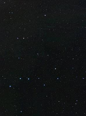 Big Dipper And Ursa Minor Constellation Poster