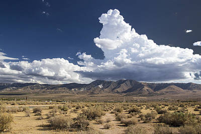 Big Mountains Bigger Clouds Poster