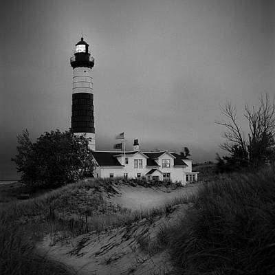 Big Sable Point Light Poster by Jeff Burton