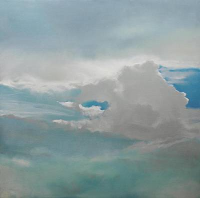 Poster featuring the painting Big Sky by Cap Pannell