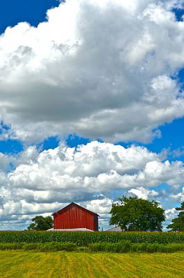 Big Sky Poster by Frozen in Time Fine Art Photography