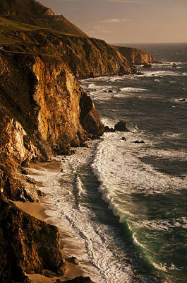 Poster featuring the photograph Big Sur Coast by Lee Kirchhevel