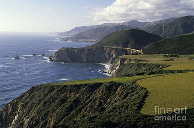 Big Sur Highway 1 Poster by Jim Corwin