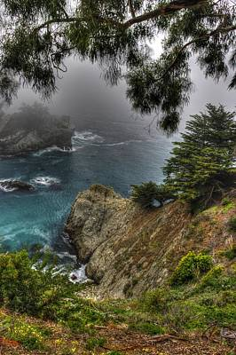 Big Sur Julia Pfeiffer State Park-1 Central California Coast Spring Early Afternoon Poster