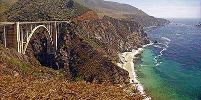 Poster featuring the photograph Big Sur by Rod Jones