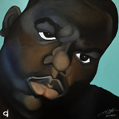 Biggie Poster by Chelsea VanHook