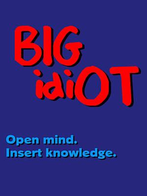 Bigidiot Poster