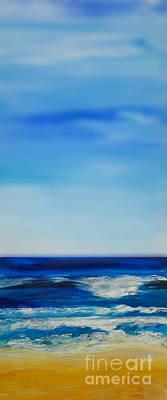 bigSky Beach Poster