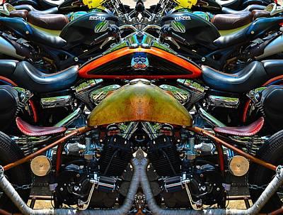 Bike Collage Poster