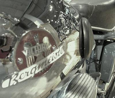 Bike Reflection Poster by Jeff Taylor