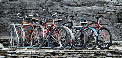 Bikes At Harpers Ferry  Poster